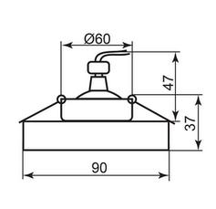 Cветильник точечный встраиваемый Feron 8080-2 под лампу MR16, фото 3