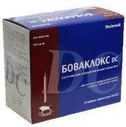 Боваклокс DC екстра 5,4 г шприц-туба, противомаститный препарат для сухостойных коров
