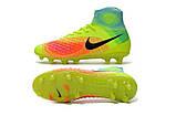 Мужские бутсы Nike Magista Obra 2 FG light green, фото 4