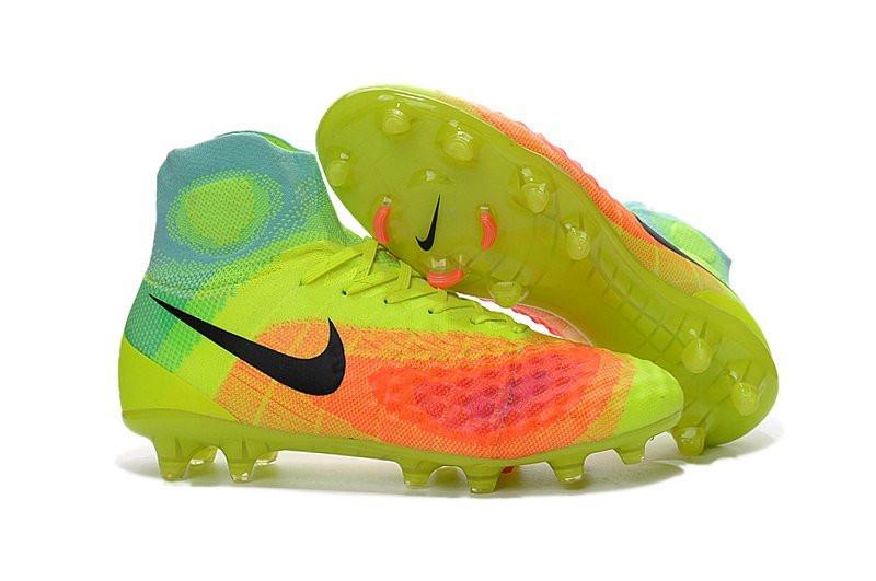 Мужские бутсы Nike Magista Obra 2 FG light green