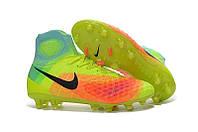 Мужские бутсы Nike Magista Obra 2 FG light green, фото 1