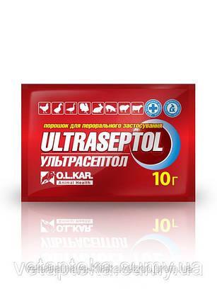 Ультрасептол 50 г порошок комплексный антибиотик для животных и птицы, фото 2