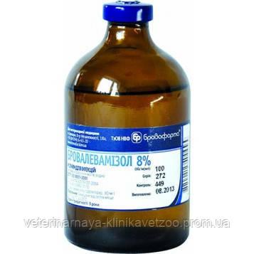 Бровалевамизол 8% 20 мл противопаразитарный ветеринарный препарат, фото 2