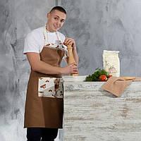 Фартук кухонный Капучино Шоколад