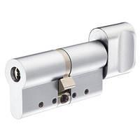 Цилиндр односторонний Protec2 (ключ-тумблер) 31Х31мм, хром матовый [CY323T HCR]