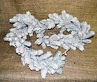 Гирлянда еловая густая в снегу GASF-17 пластиковая