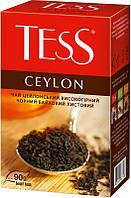 Черный чай Tess Ceylon цейлонский листовой 90гр.