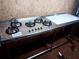 Плита газовая STAR 5-ти камфорочная панель (новая) Италия, фото 4