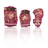 Защита для роликов детская COOPER-GIRL розовая
