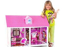Домик для кукол типа Барби . 66882 + кукла и аксессуары.
