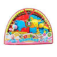 Килимок для немовляти 518-10 дуги 2 шт., підвіски, сумка, 82-57-7 см .