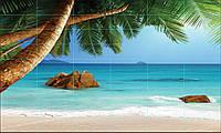 Фотопанно Пальма -  Печать на кафеле, плитка 20х50см.