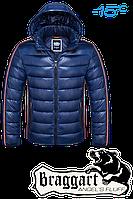 "NEW! Куртка зимняя мужская, пуховик Braggart ""Angel's fluff"" 1185 (синий), р.S, M, L, XL, XXL"