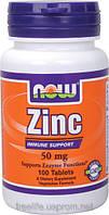 Zinc, Цинк 50 мг, 100 таблеток для эрекции и от импотенции из США