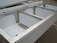 Ванна моечная 3-х секционная 1800х600х850
