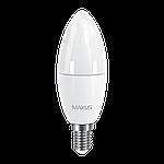 Набор LED ламп MAXUS (по 2 шт.) C37 6W 3000K 220V E14 (2-LED-533)  , фото 2