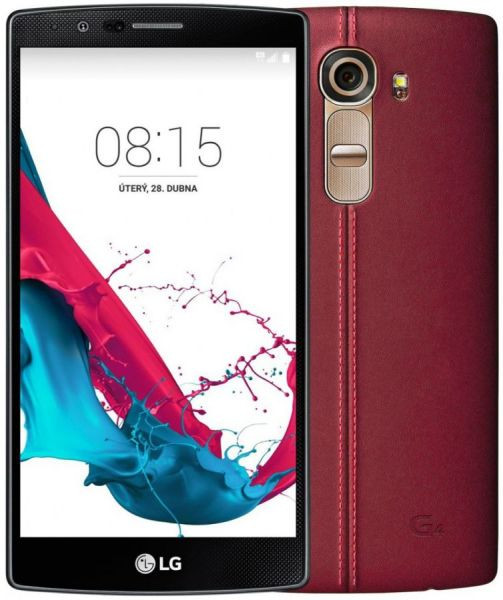 LG H818 G4 Dual (Genuine Leather Red)