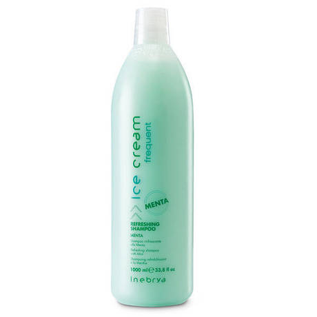 INEBRYA Frequent Refreshing - шампунь освежающий с мятой 1000 мл.