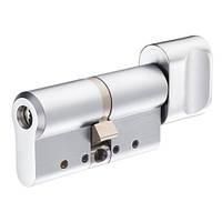 Цилиндр односторонний каленный Protec2 (ключ-тумблер) 32Х31мм, хром полированный [CY333T]