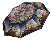 Женский зонт Три Слона САТИН ( автомат ), арт.882-6