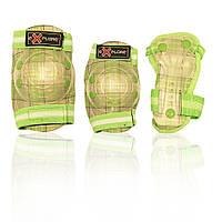 Защита для роликов детская COOPER-BOY зеленая