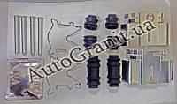 Монтаж задних колодок комплект(на суппорт BJ) на 2 стороны AGAP 3667, CHERY TIGGO, T11-BJ