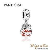 Шарм Pandora РОЖДЕСТВЕНСКИЙ ШАР #792008CZ серебро 925 Пандора оригинал