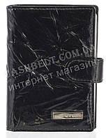 Кожаная лаковая стильная прочная визитница под кожу рептилии NERI KARRA art. 23318-T24BB черный, фото 1