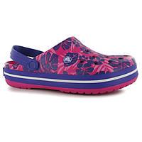 Кроксы Crocs Tropical Print Clogs Ladies размер 40