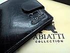 Портмоне кошелек мужской Abiatti кожаный, фото 8