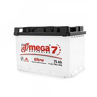 Аккумулятор A-Mega 6СТ-75 левый + Ultra М7