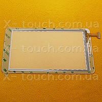 Тачскрин, сенсор  GM140A070G-FPC-1 белый  для планшета