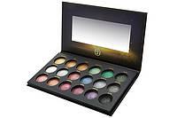 Палетка запечённых теней Supernova - 18 Color Baked Eyeshadow Palette BH Cosmetics Оригинал