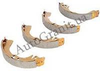Колодки тормозные задние(с ABS) ABE, GEELY CK, 1403060180