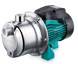 Насос центробежный поверхностный Leo AJm75S 0.75 кВт