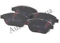 Колодки тормозные передние PREMIUM, GEELY EMGRAND, 1064001724