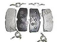 Колодки тормозные передние(с ABS), GEELY CK, 3501190005