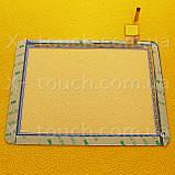Тачскрин, сенсор  TOPSUN_D0019_A2-FPC701DR Белый для планшета, фото 2