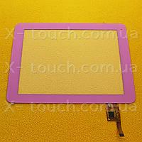 Тачскрин, сенсор  TOPSUN_D0019_A2-FPC701DR розовый  для планшета, фото 1