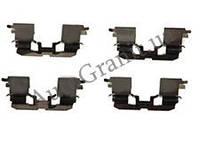 Монтаж передних колодок комплект (пластины) 4 шт. AGAP 1129, GEELY MK, MK