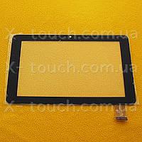 Тачскрин, сенсор  FPC-TP070076(736)-00 черный  для планшета