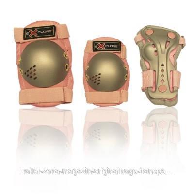 Защита для роликов детская MAGNUM-X розовая