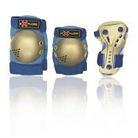 Защита для роликов детская MAGNUM-X голубая