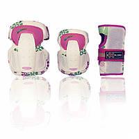 Защита для роликов детская SECURE розовая XS
