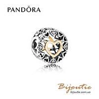Шарм Pandora КРУГ ЛЮБВИ #792009CZ серебро 925 Пандора оригинал