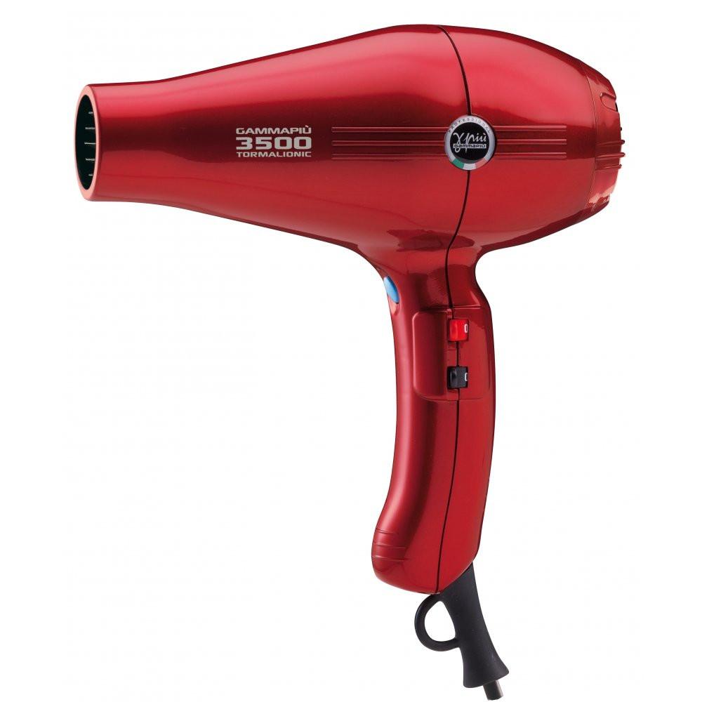 Фен Gamma Piu 3500 Tormalionic red (GP3500T 221)