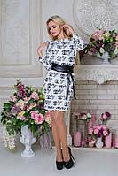 Модное женское  белое платье Бирма Лайт CHANEL  Modus  44-48 размеры