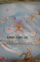 Детский постельный комплект 7 предметов Кролик