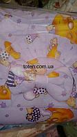 Детский постельный комплект 7 предметов Сладкий Мишка