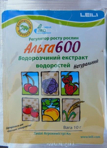 БИО-Регулятор роста Alga 600/Альга 600, 10 г — широкого спектра применения